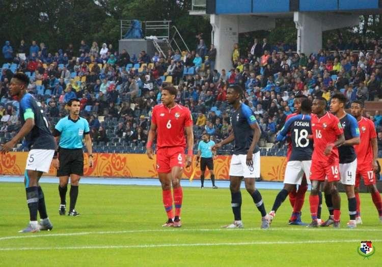 El equipo panameño perdió 2-0 ante Francia. Foto: Fepafut