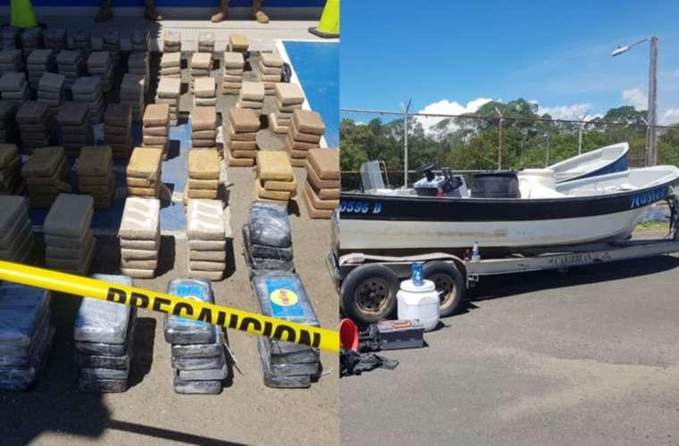 Los tres tripulantes de la embarcación fueron puestos a órdenes de las autoridades y enfrentarán una audiencia de control ante el Tribunal de Garantías.