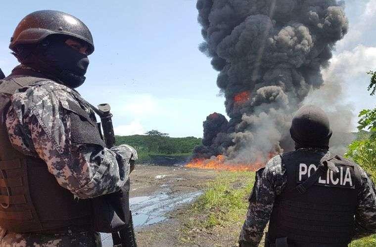 Piden que la droga sea incinerada de otro forma que no cause tanto daño a la población y al medioambiente. Foto: Ilustrativa
