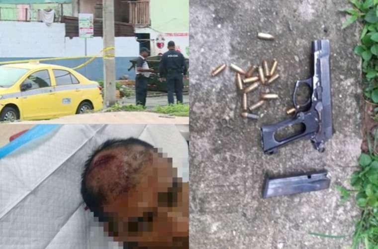 Las personas quienes realizaron las detonaciones fueron identificados, según el director de la PN. Fotos: Cortesía