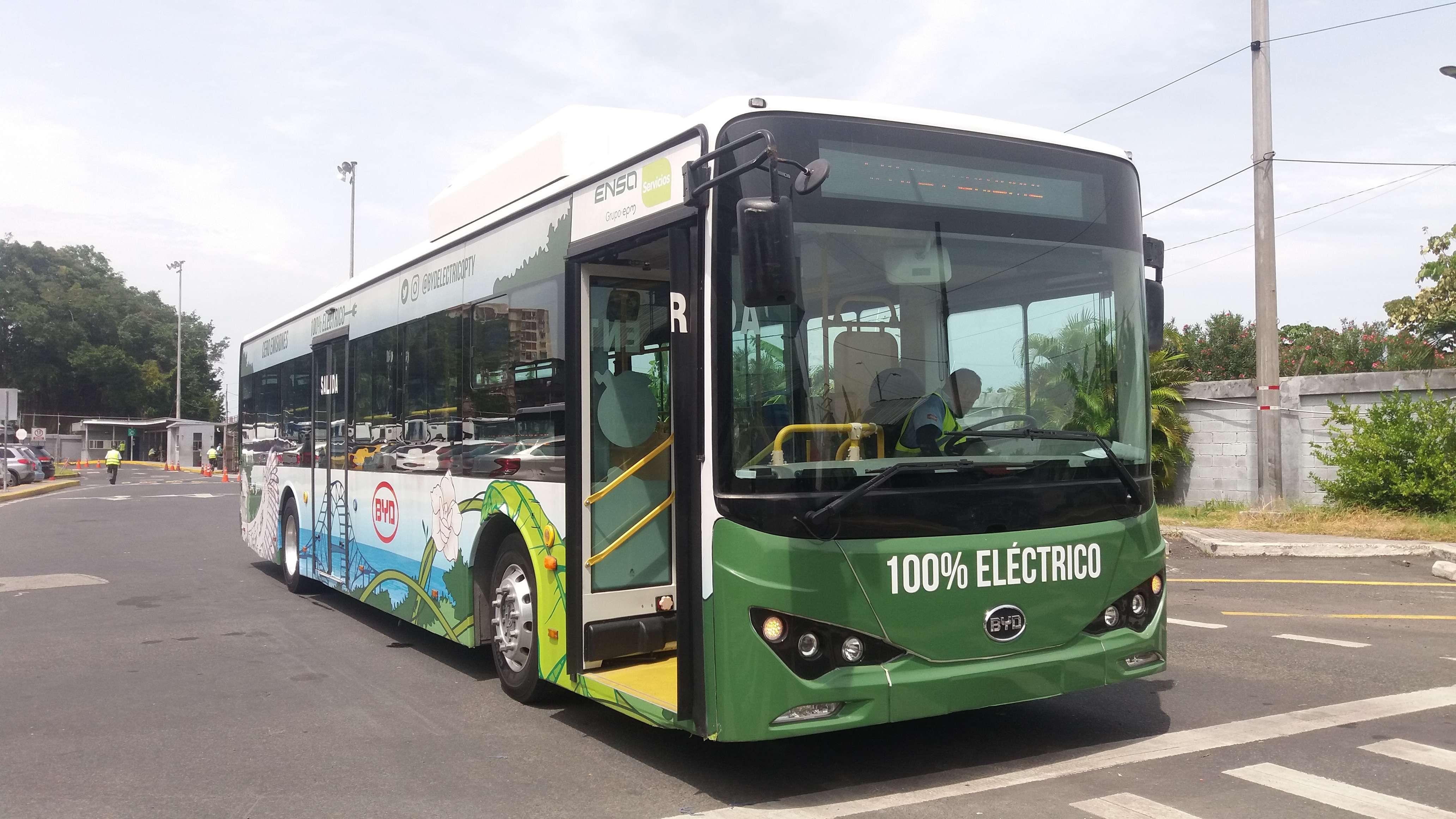 Bus eléctrico modelo k9.