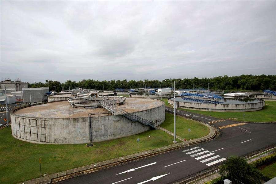 Vista general de la Planta de Tratamiento de Aguas de Residuales. EFE