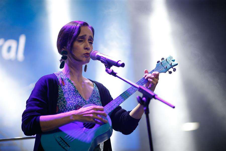 La cantante mexicana Julieta Venegas. EFE