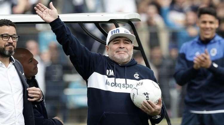 Maradona niega alguna enemistad con Lionel. Foto: EFE