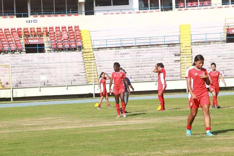 Selección femenina de Panamá. Foto: Anayansi Gamez