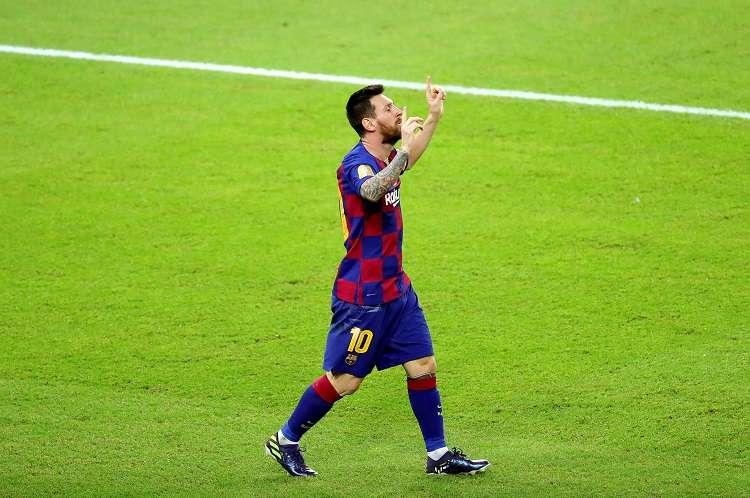 Leo Messi obtiene su undécima participación. Foto: EFE