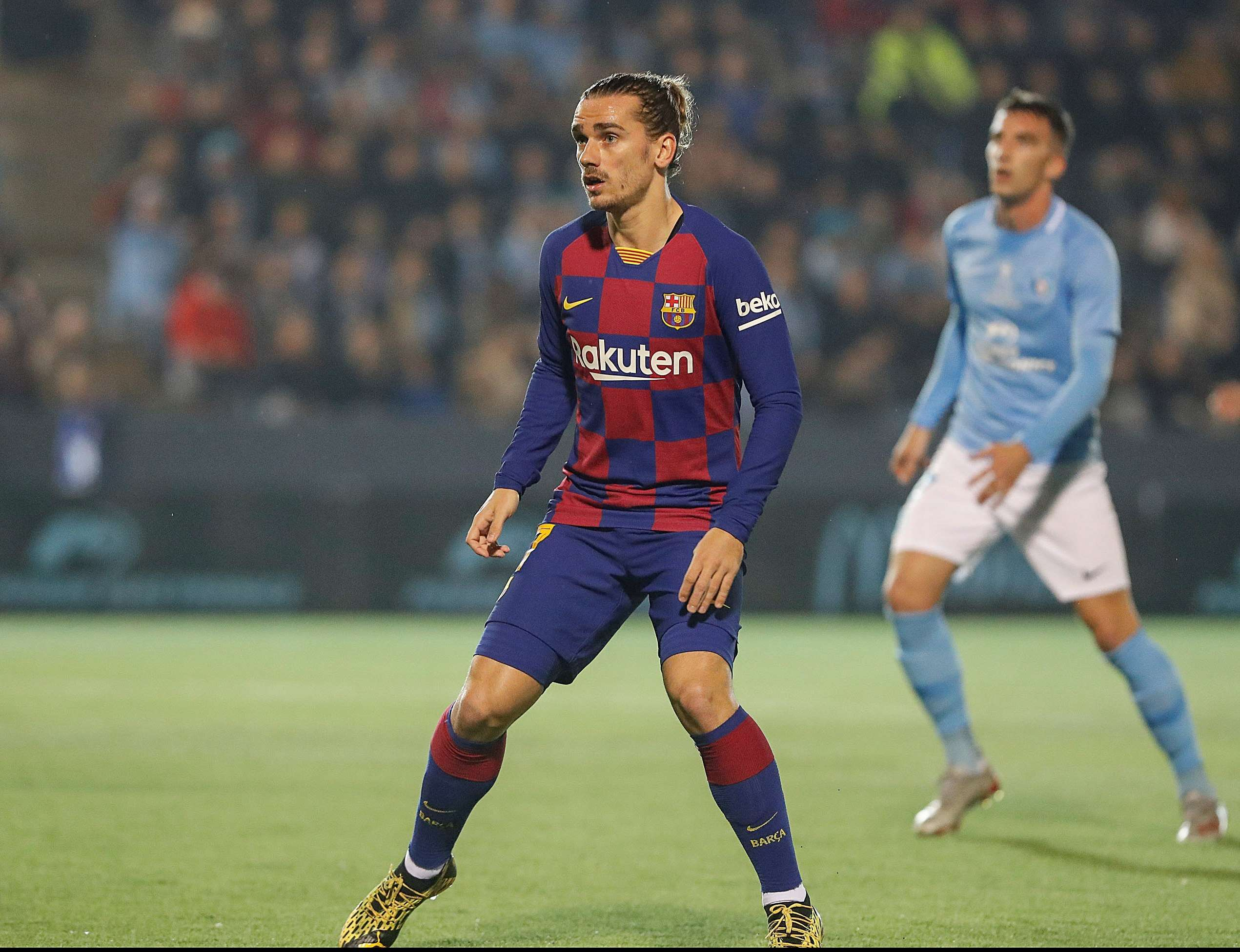 El delantero del FC Barcelona Antoine Griezmann. Foto: EFE