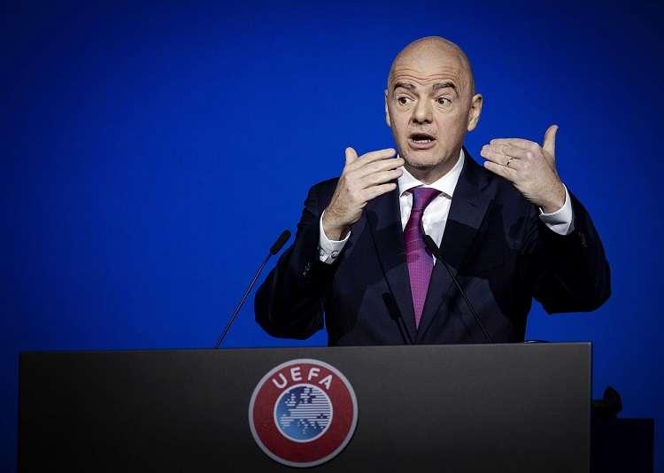 Gianni Infantino, presidente de la Fifa. Foto: EFE