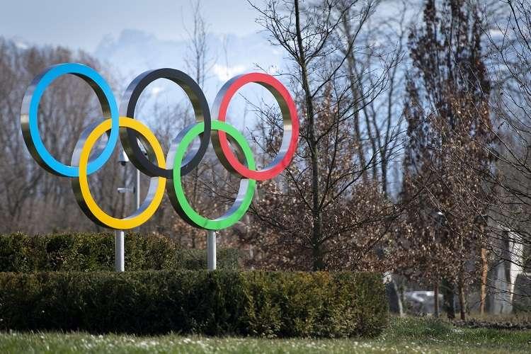 Logo de los Juegos Olímpicos. Foto: EFE