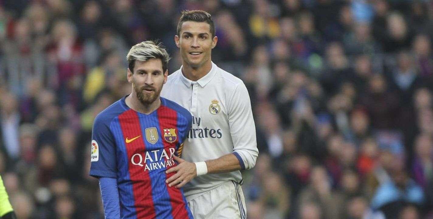 Lionel Messi y Cristiano Ronaldo. /AP