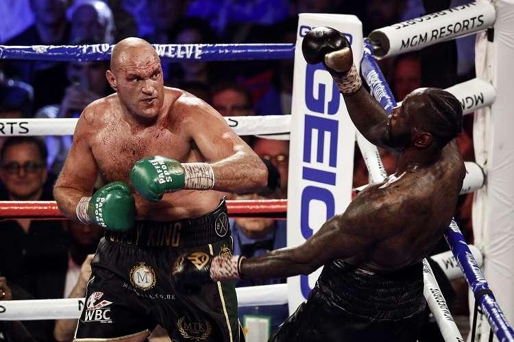 Tyson Fury posee el cinturón del Consejo Mundial de Boxeo (CMB). Foto: EFE