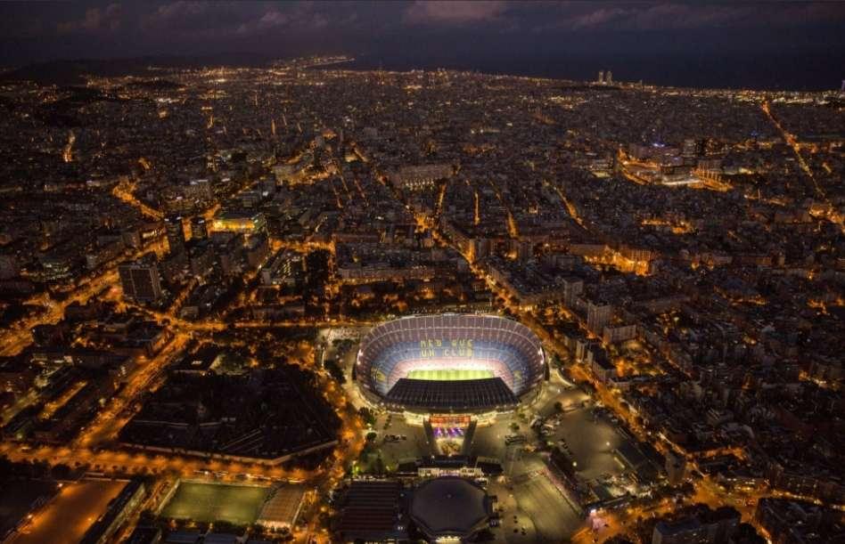 El estadio Camp Nou. /AP
