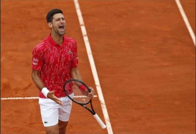 El serbio Novak Djokovic, N°1 del tenis mundial en la rama masculina.