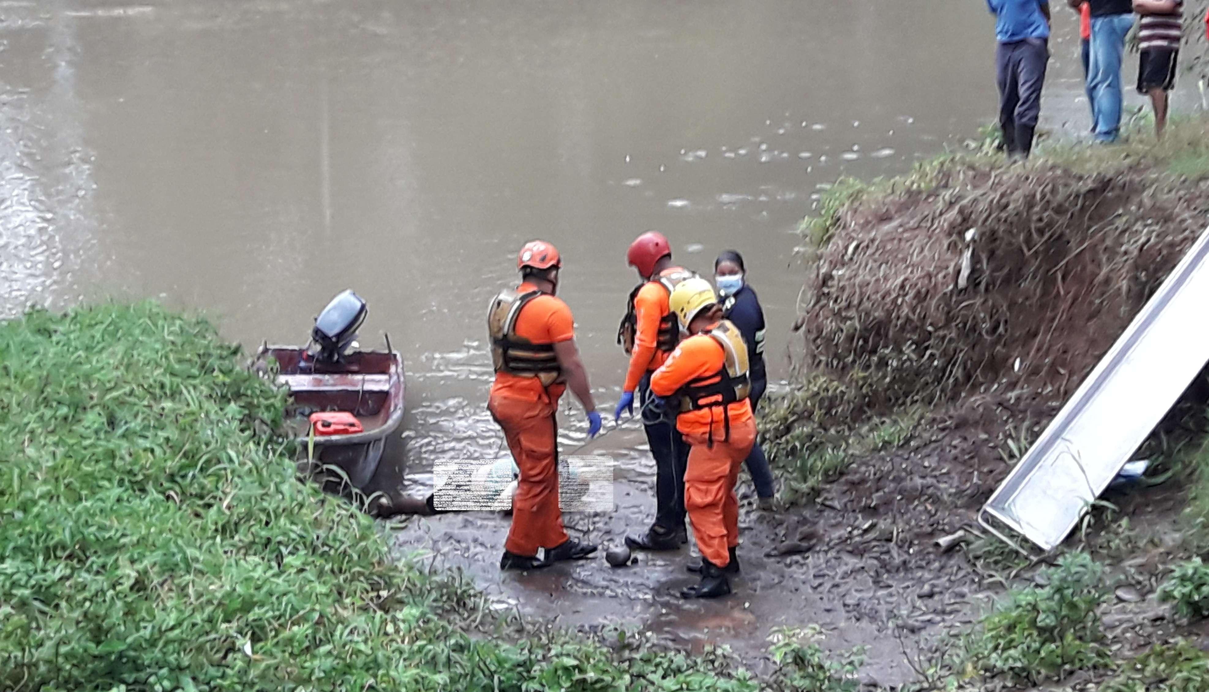 Los dos cuerpos sin vida fueron encontrados el 26 y 27 de septiembre de 2020, a orilla del río Risacua en David