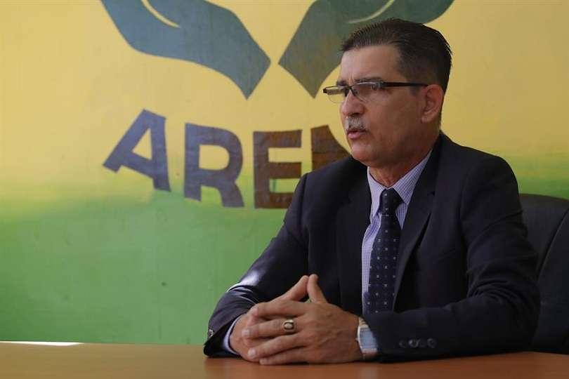 En la imagen el presidente de la Asociación de Residentes y Naturalizados de Panamá (ARENA), Rafael Rodríguez. EFE