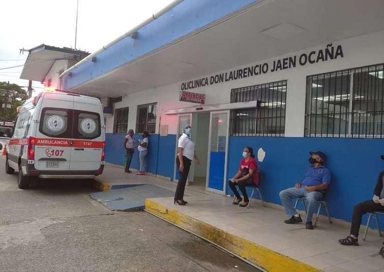 La víctima fue estabilizada en la Policlínica Don Laurencio Jaén Ocaña de Sabanita.
