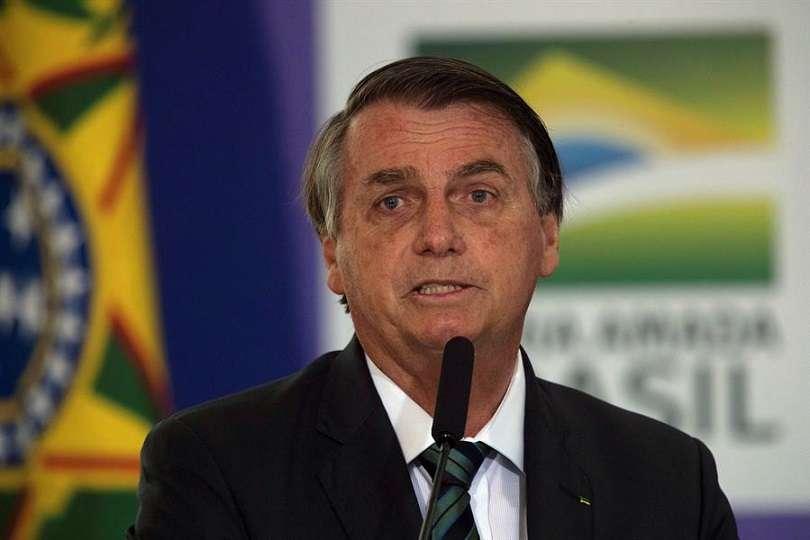 Presidente de Brasil, Jair Bolsonaro. EFE