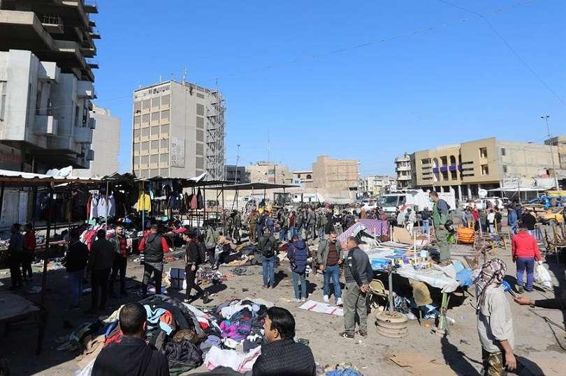 El ataque tuvo lugar en la céntrica plaza de al Tayaran de Bagdad. EFE