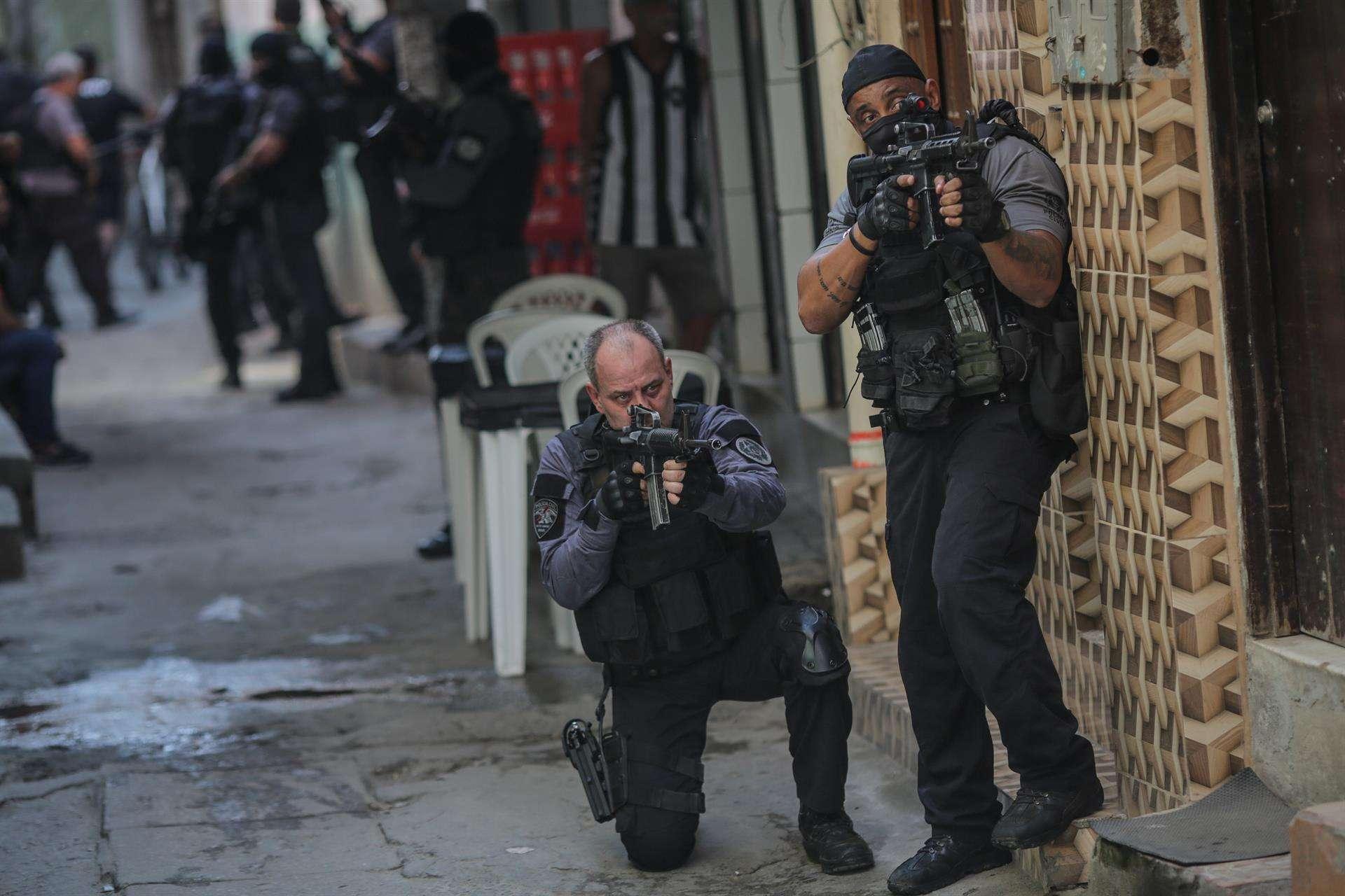 Operataivo policial en Río