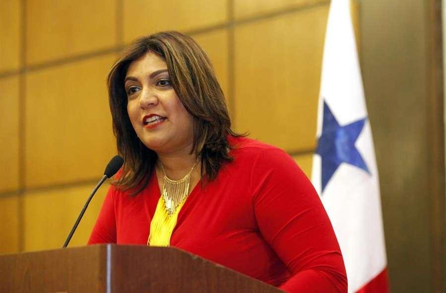 Fotografía de archivo de Farah Urrutia, representante estatal de Panamá. EFE