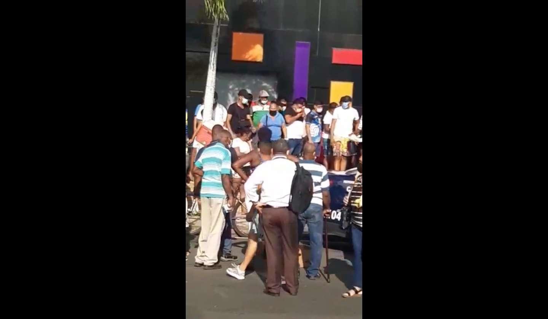 La víctima fue trasladada hasta el hospital Santo Tomás