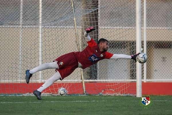 José Calderón es uno de los porteros que estará disponible para los dos partidos que tiene la Selección de Fútbol de Panamá el 5 y 8 de junio. Foto: Fepafut