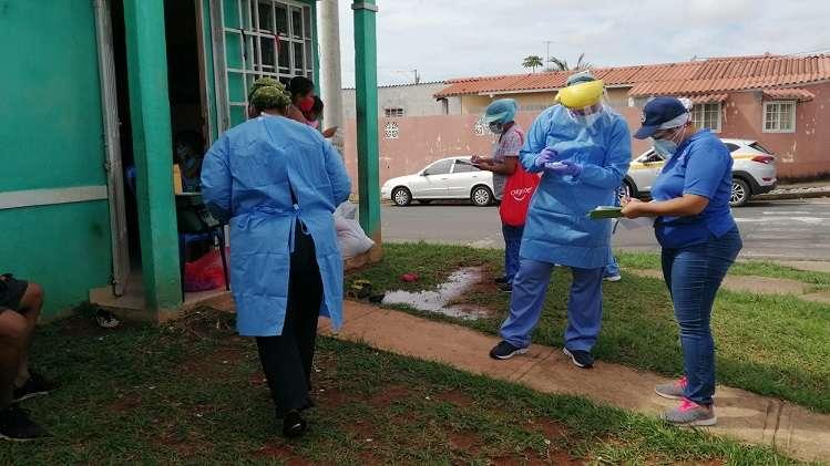 El puesto de hisopado estará funcionado en la sede regional del Minsa.