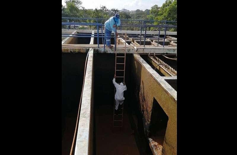 Los niveles de sedimentación en el río Caimito, preocupan cada vez más al Idaan.