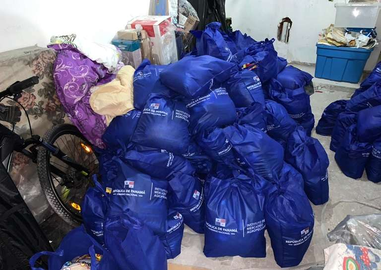 Fiscalía Anticorrupción se deberá determinar la procedencia de las bolsas.