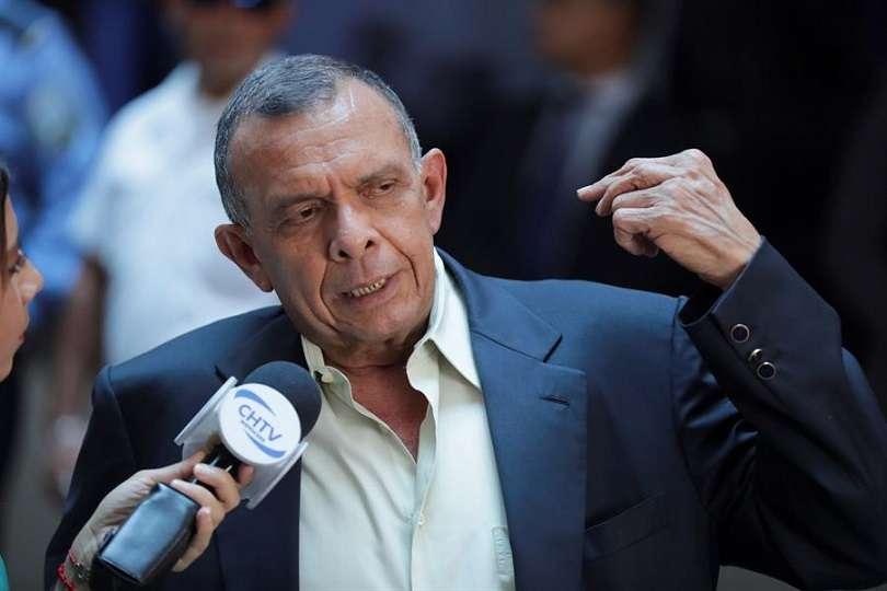 En la imagen, el expresidente de Honduras Porfirio Lobo. EFE