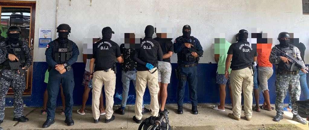 La operación se realizó en la provincia de Colón