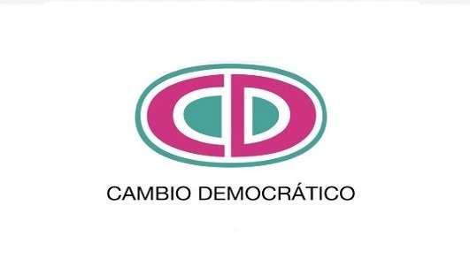 Logo del partido Cambio Democrático.