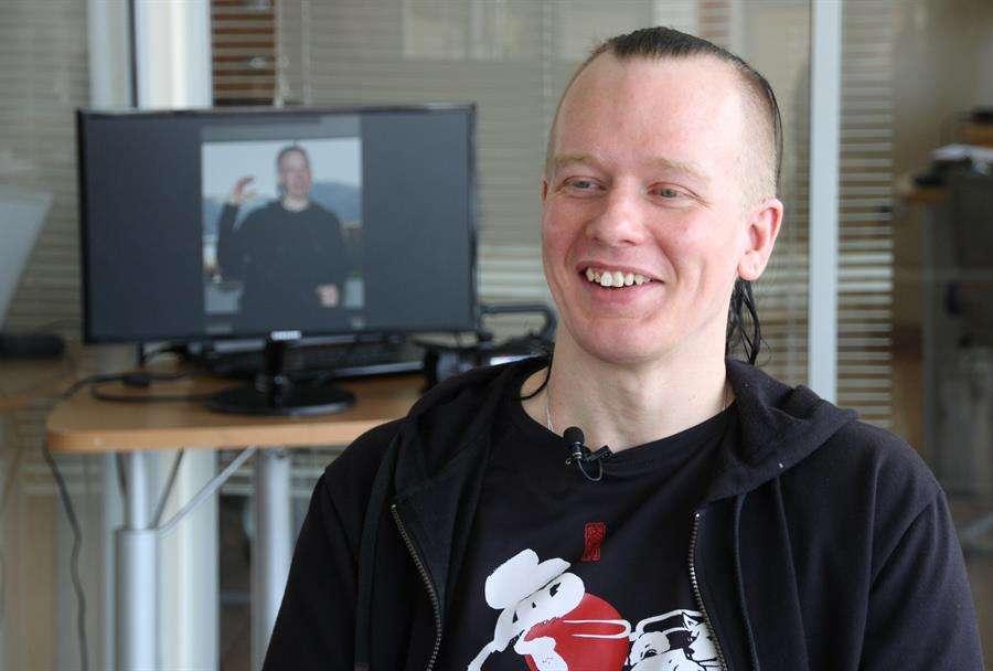 Fotografía de archivo de Ola Bini, el informático sueco de 37 años y amigo de Julian Assange. EFE