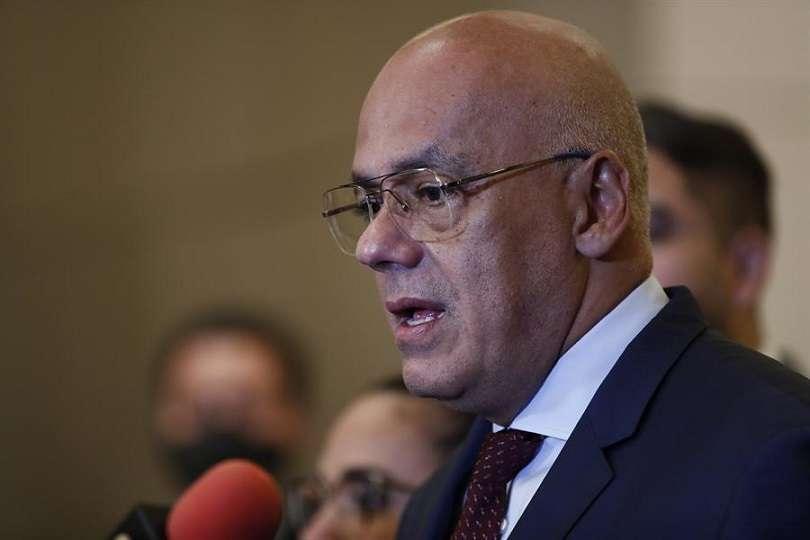 Fotografía de archivo del presidente de la Asamblea Nacional de Venezuela, Jorge Rodríguez. EFE/