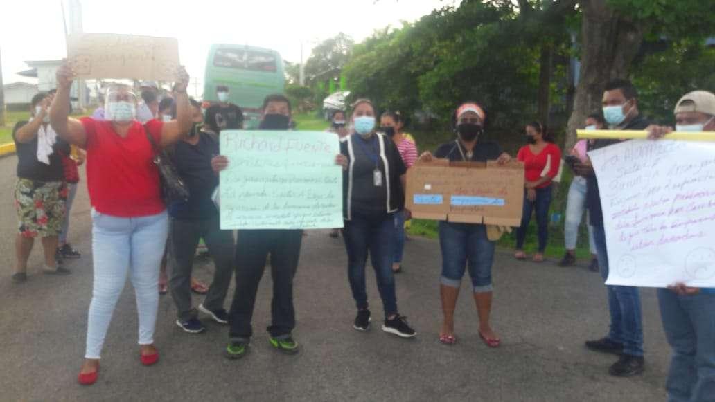 Protestan ante falta de energía eléctrica