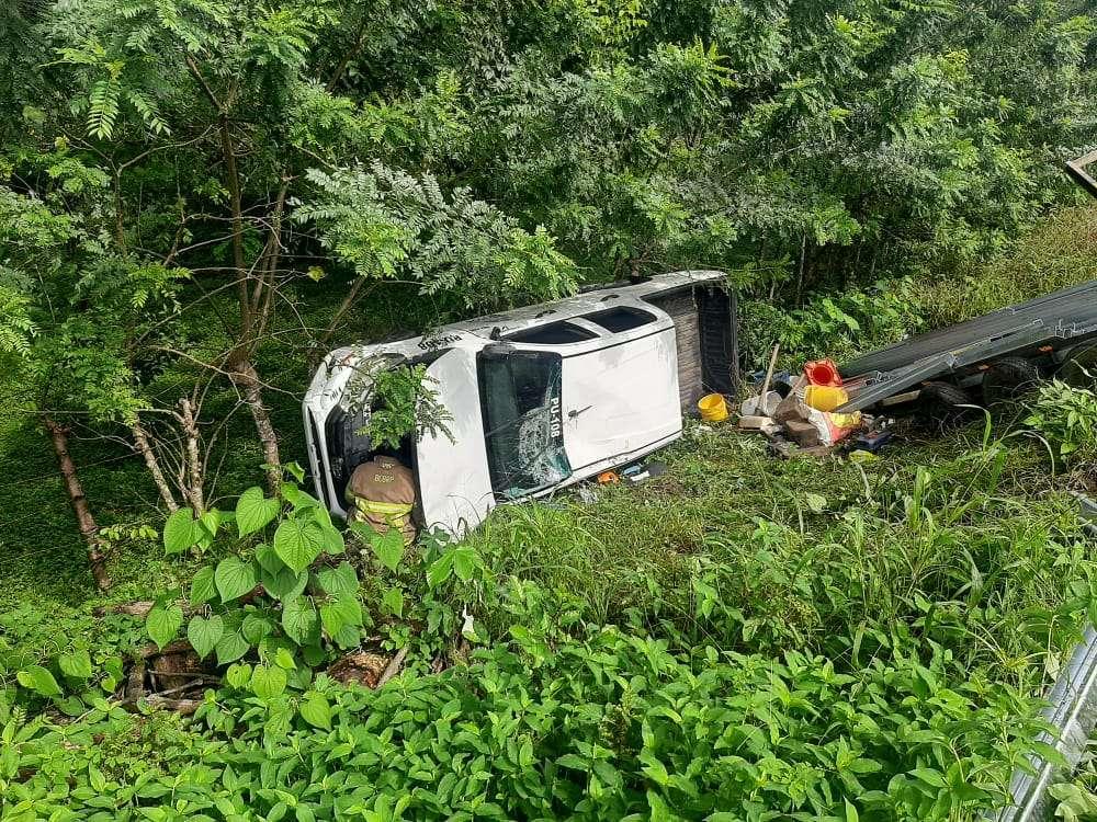 Al menos ocho heridos en dos accidentes en 24 horas.