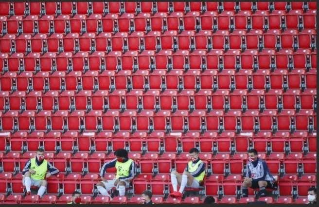 Suplentes del Bayern Múnich en el encuentro de hoy en la Bundesliga.