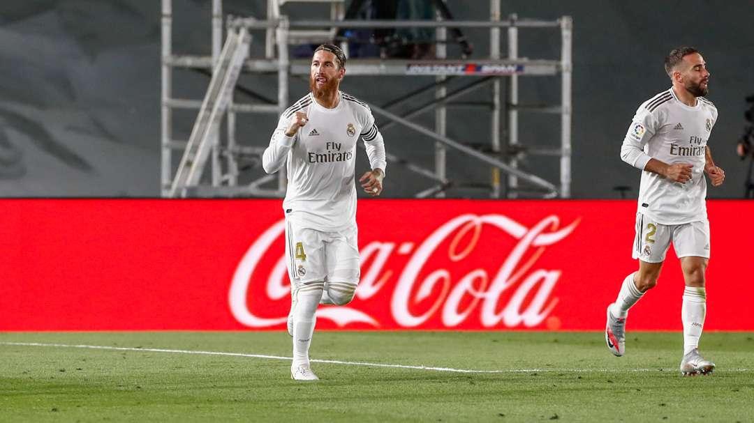 Sergio Ramos anotó el gol de penal.