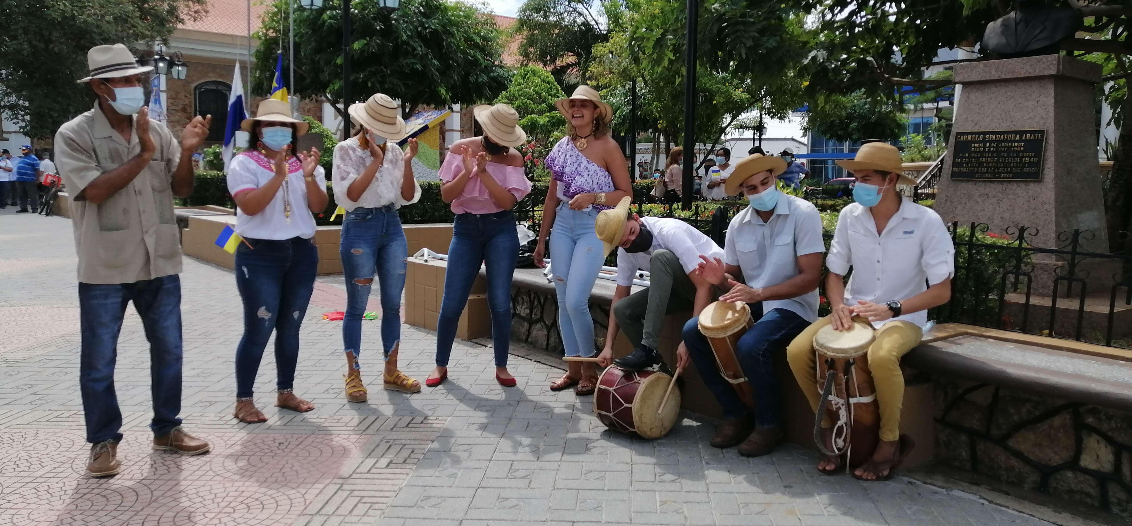 Los actos se realizaron en el Parque Unión de Chitré.