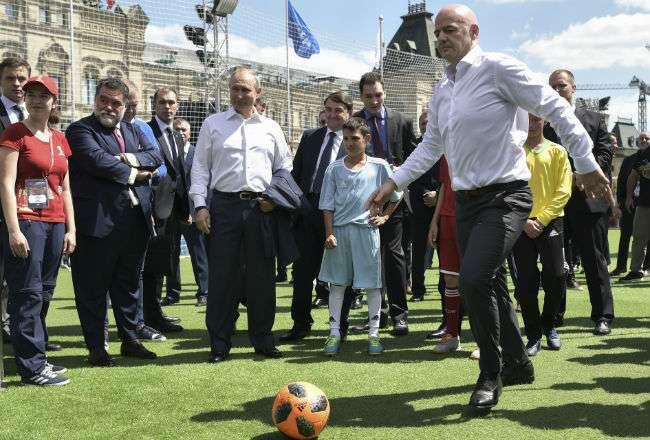 Gianni Infantino es presidente de la Fifa desde 2016.