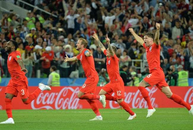 Inglaterra se enfrentará a Croacia en la semifinal. Foto:EFE