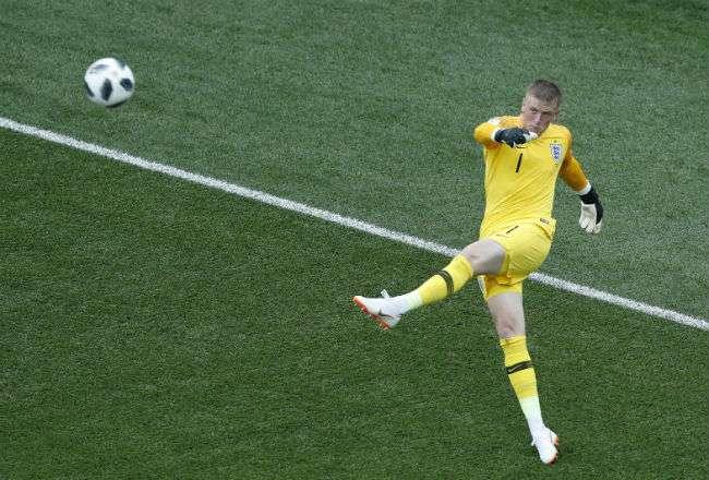Jordan Pickford está en su primera Copa del Mundo.