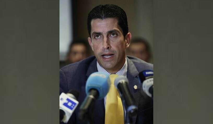 En la imagen un registro de José Ramón Icaza, nuevo presidente de la Cámara de Comercio, Industria y Agricultura de Panamá (CCIAP). EFE/