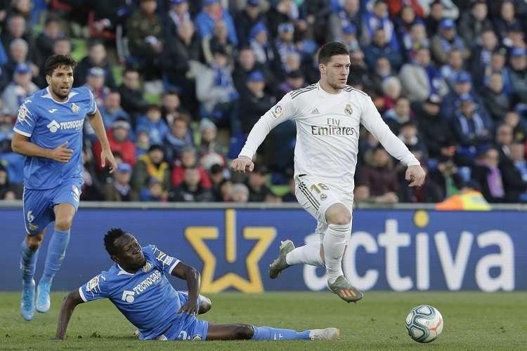 Zidane señaló que el serbio trabaja bien. Foto: AP