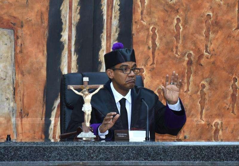 En la imagen, el juez de la Suprema Corte de Justicia (SCJ) dominicana Francisco Ortega Polanco. EFEArchivo