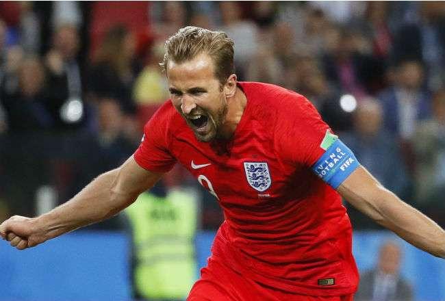 El jugador de Inglaterra Harry Kane. Foto: EFE