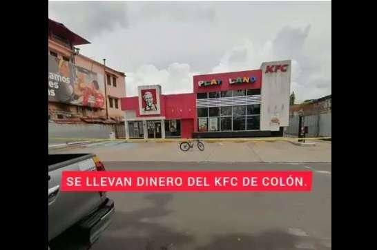En reiteradas ocasiones este local de comida rápida ha sido visitado por los delincuentes.