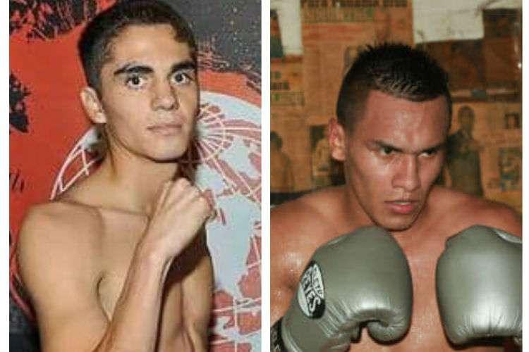 """Fernando Fuentes (izq.) y Bryan """"La Roca"""" De Gracia se medirán a 10 asaltos y 126 libras."""