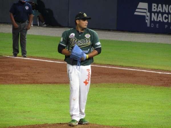El derecho Luis Machuca fue el ganador del encuentro. Foto: Fedebeis