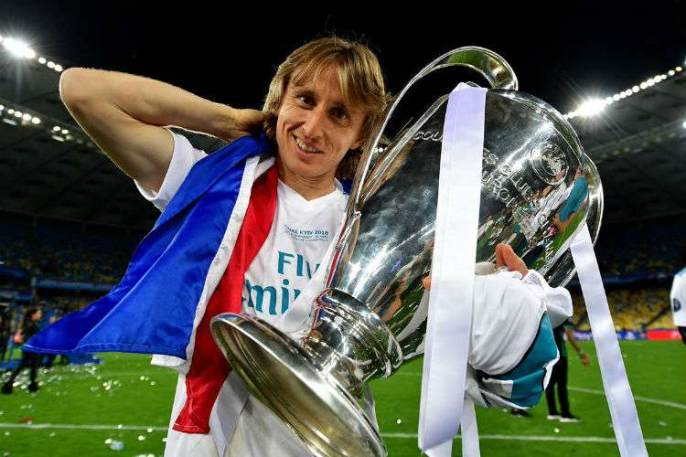 El futuro de Luka Modric con el Real Madrid está en duda.